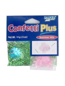 garden flowers confetti plus summer mix .5 ounce bag