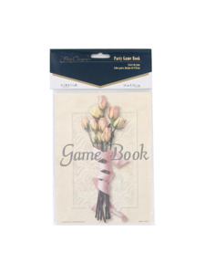 floral bouquet party game book