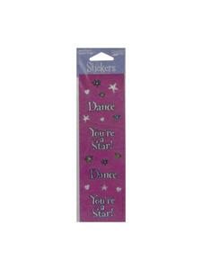 girl time dance sticker sheet