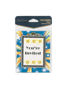happy retirement 8 count party invitations/envelopes