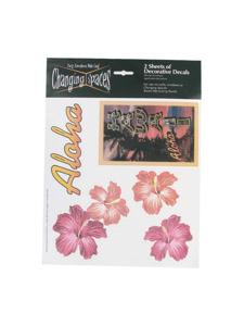 hawaii 2 sheets decorative decals