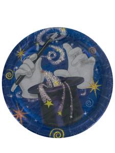 hocus pocus 8 count 6 3/4 inch round plates
