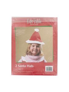 holiday fun 2 count santa hats