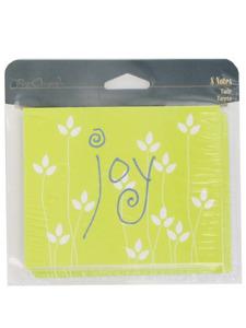 inspiration joy 8 count note cards/envelopes
