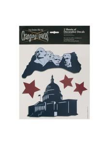 liberty 2 sheets of decorative decals