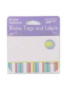 mobile animals 24 self adhesive name tags and labels