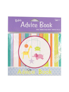mobile animals baby advise book