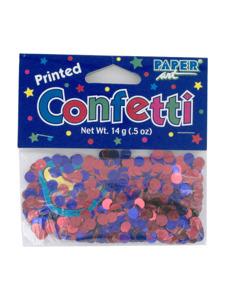 ole printed confetti .5 ounce bag