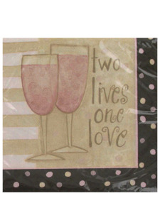 perfect match 16 count 9 7/8 x 9 7/8 inch napkins