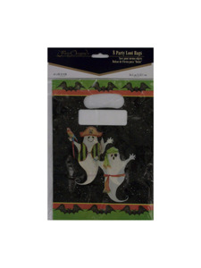pirate ghosts 8 count party loot bags 6 1/2 x 9 inch