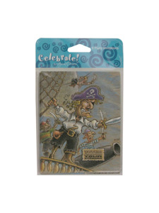 pirate party 8 count party invitations/envelopes