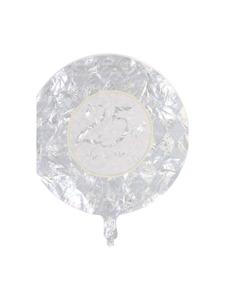 platinum wishes 25th anniversary metallic balloon