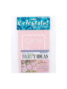 pretty in pink party game book