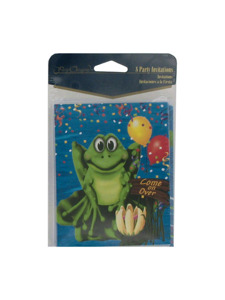 swamp party 8 count party invitations/envelopes