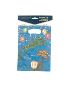 swamp party 8 count party loot bags 6.5 x 9 inch