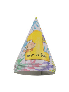 cakes on me 8 count party hats