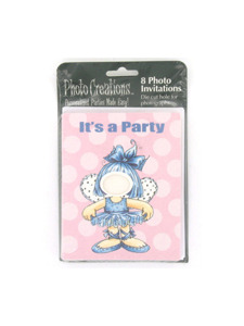 tiny dancer 8 count photo invitations/envelopes