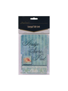 tranquil seas scorepad/tally cards