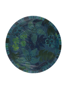 tropic cool 8 count 6 3/4 inch round plates