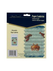 under the sea 2 decorative paper lanterns