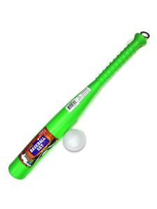 Plastic baseball bat and ball