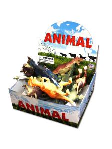 12 piece jumbo dinosaur display (assortment may vary)