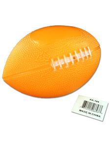Soft rubber football