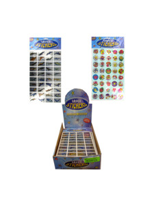 40 piece laser stickers (assortment may vary)