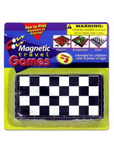 magnetic travel games (assortment may vary)