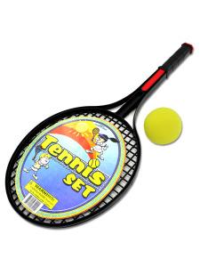Tennis set with foam ball