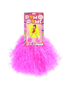 2 pk pomp poms plastic