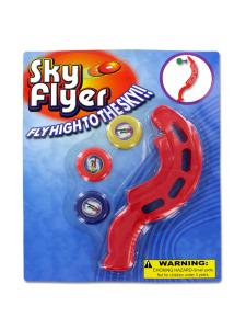 Sky high disk flyer
