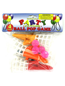 Ball pop game favors (pack of 4)