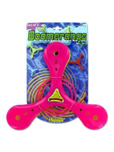 set of 2 boomerangs