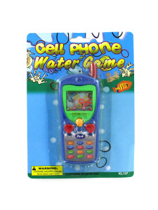 cell phone water toss game assorted colors