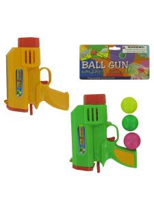 Ball gun with balls and targets