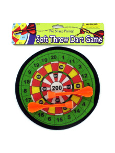 Soft dart game