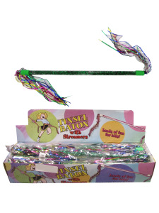 baton with streamers