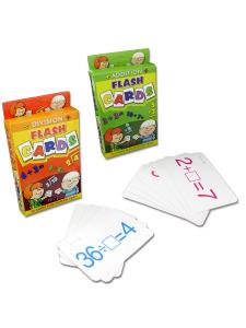 assorted jumbo flash cards