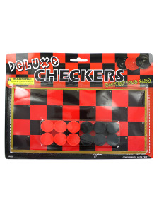 Toy checkerboard with checkers