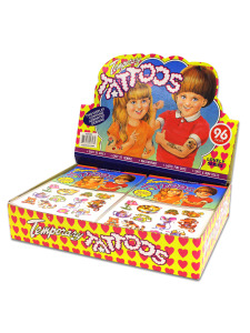 assorted childeren tattoos
