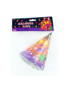 8 pack halloween party hats