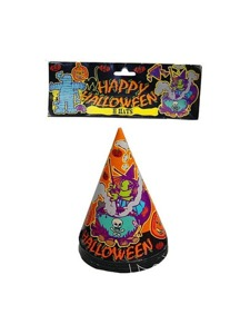 8 pack witch party hats