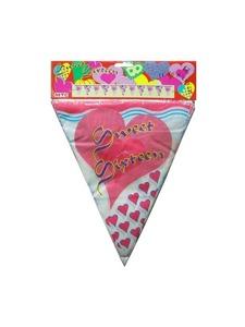 sweet16 12 heart banner pf27