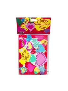 happy valentine 8 pack invitations/envelopes
