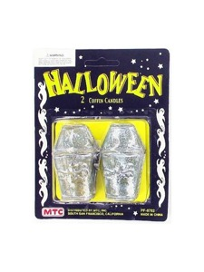 2 pack coffin candles