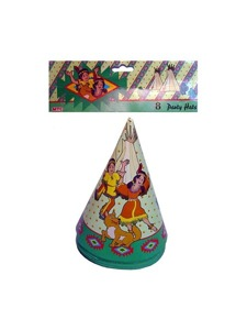 indn 8 party hats pf91