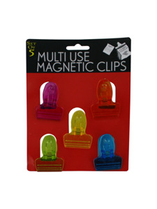 Magnetic clips (set of 5)