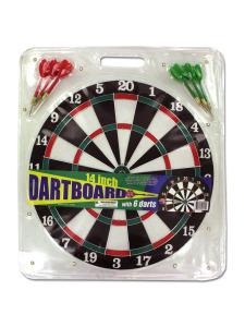 14 dartboard w/ 6 darts