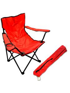 32 Tall folding chair w/drink holder